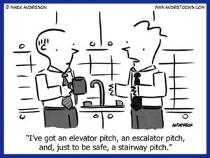 elevator pitch sales