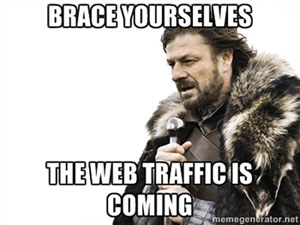 cheap web traffic image