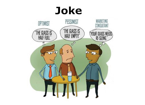 optimist joke image
