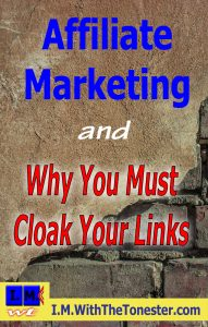 why you must cloak your links